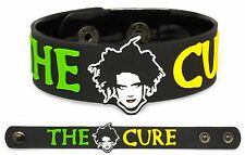 THE CURE Rubber Bracelet Wristband Faith Three Imaginary Boys Disintegration