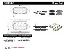 Disc Brake Pad Set-Base Rear Stoptech 309.09050