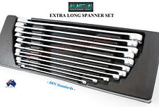 EXTRA LONG SPANNER SET GERMAN HONITON TRADE QUALITY TOOLS DIN STANDARDS Special