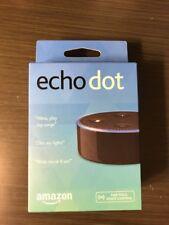 BRAND NEW Amazon Echo Dot 2nd Generation w/ Alexa Voice Media Device Black!!!