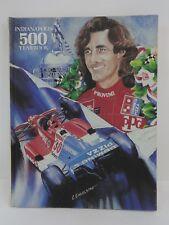 1990 Indianapolis 500 Hardback Yearbook Hungness Arie Luyendyk