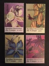 Congo-Kinshasa 2001 Flowers and Insects M.N.H.