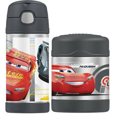 THERMOS Funtainer S/S Vacuum Insulated 355ml Bottle & 290ml Food Jar Disney Cars