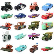 Disney Pixar Cars McQueen Chick Hicks Lizzie Sally Metal Toy Car Model Diecast