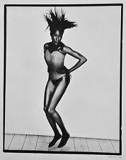 Bob Carlos Clarke Ilford Promotional Photo Black Model Hermine Fetish Legs 35x43