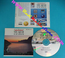 CD interactive ENNIO MORRICONE Vidi aquam id est benacum 1994 no lp mc dvd