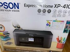 Damaged box - New - Epson Expression Home Wireless Small-in-One Printer Xp-4105