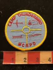 Vintage MCRPD CAMP THUNDERBIRD ( California ?) Patch 83X3