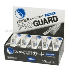 Feather Artist Club Pro Guard blade PG-15 10 packs 150 blades New