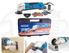 Draper 23666 300w 230v Oscillating MultiTool Kit Sanding Cutting Saw Accessories