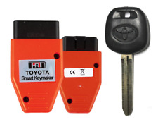 NEW TOYOTA UNCUT TRANSPONDER 4D CHIP Keys With Programmer USA Seller A+++
