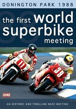 The World's First Superbike Meeting - Donington Park 1988 (New DVD) Joey Dunlop