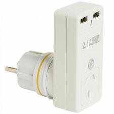 Korjo USB2X2EU 2-Port Double Adapter