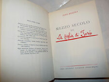 Tito Rosina: Mezzo Secolo de La Figlia di Iorio 1955 D'Annunzio ed. numerata