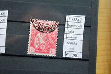 FRANCOBOLLI ITALIA COLONIE SOMALIA USATI (F72347)