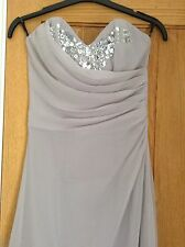 Lipsy Lilas cristal robe, uniquement porté une fois Taille 8, Royaume-Uni, semble neuf £ 30.00