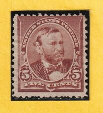 US STAMP 223 5c 1890 *MINT NG CV$60.00 705