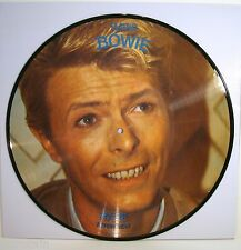 David Bowie - Let's Talk / Rare Interview | 1983 | Picture Disc | Cleaned Vinyl