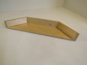 ShelfGenie Side Shelves 24-3/4in L x 6in W x 3in H Natural Plywood