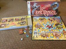 The Legend of the Lone Ranger Board Game Milton Bradley 1980 #4108 COMPLETE SET