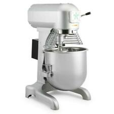 1.0 Hp 20 Qt Commercial Dough Food Mixer Gear Driven Pizza Bakery Three Speed
