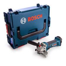 Bosch GWS 18-125 V-LI SOLO 18V Li-Ion Accu haakse slijper body in L-Boxx - 125mm