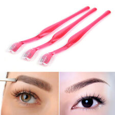 3pcs Eyebrow Lip Razor Trimmer Blade Shaver Knife Hair Remover Facial Makeup Di
