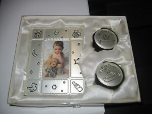 Baby Silver frame and gift set New