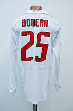 AC MILAN MATCH WORN ISSUE FOOTBALL SHIRT JERSEY ADIDAS FORMOTION #25 BONERA