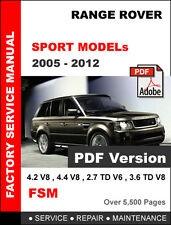 automotive pdf manual ebay stores rh ebay com 2007 range rover supercharged owners manual 2008 Range Rover Supercharged Interior