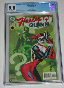 Harley Quinn #6 (2001) Dodson Cover 1st Series DC CGC 9.8 Few GRaded