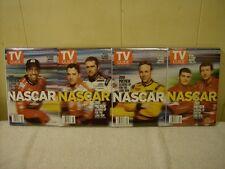 TV GUIDE NASCAR 2001 PREVIEW 4 COVER SET / RARE / NEW / SEALED