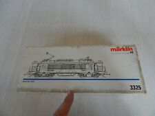 LOCOMOTIVA ORIGINALE MARKLIN 3330 RE 4/4 IV HO H0