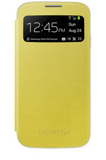 Funda S View Samsung Ef-ci950by amarilla para Galaxy S4