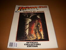 Indiana Jones, Lot of 2 Collector Magazines,Temple of Doom, Crystal Skull!
