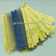 1000pcs Metal Film Resistor 1/4w 1%  Assorted Kit 50 Values szsp04