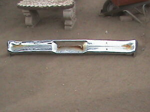 62 63 64 1962 1963 1964 Chevy 2 NOVA Rear Bumper SS NICE Rust Free AZ
