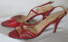 Red Fashionables Vintage Shoes High Heels 8 1/2