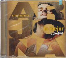 Ricardo Arjona CD NEW + 1 DVD Simplemente Lo Mejor RARE Brand New SEALED