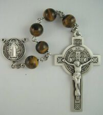 St. Benedict Sterling Silver Rosary Kit No. 4077