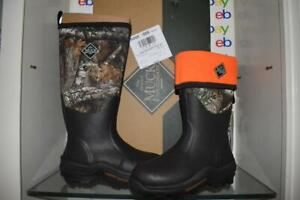 Muck Boot Men's Woody Max Country Realtree Edge Camo WDM-RTE Hunting Boots