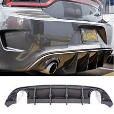 Carbon Fiber Rear Bumper Diffuser Fits 2015-2019 Dodge Charger Daytona Carbon