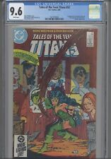 Tales of the Teen Titans #52  CGC 9.6 1985  First Azrael appearance: New Frame