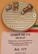 Honda CB175 VERT Cappellini #177 engine side cover ONLY for universal oil cooler