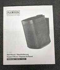 Flexson Tilt & Swivel Wall Mount / Bracket SONOS ONE / ONE SL / Play:1 Black