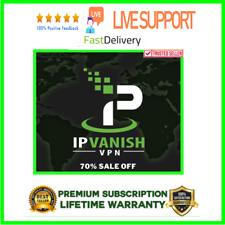 IP Vanish VPN Premuim ✔️AUTO RENEWAL✔️ Warranty✔️ Fast Delive ✔️