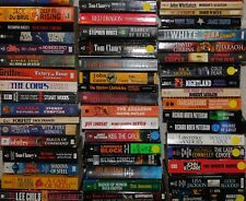 Lot of 20 Suspense Thriller Mystery Fiction Paperbacks Popular Authors UNSORTED