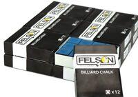 Pool Cue Chalk, Blue, 144-pack Case