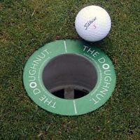 The Doughnut – Golf hole reducer, putting training aid