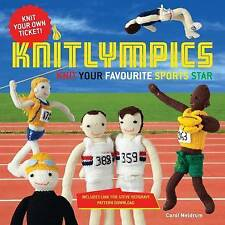 Knitlympics: Knit Your Favourite Sports Star, Carol Meldrum, Excellent Book